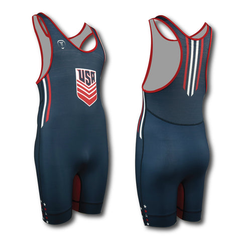 VINTAGE NAVY SINGLET (CLOSEOUT)