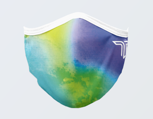WATERCOLOR FACE MASK