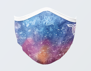 Watercolor Galaxy Mask