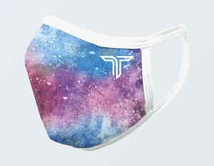 WATERCOLOR MILKY WAY FACE MASK