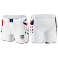 VINTAGE COMPRESSION SHORTS WHITE