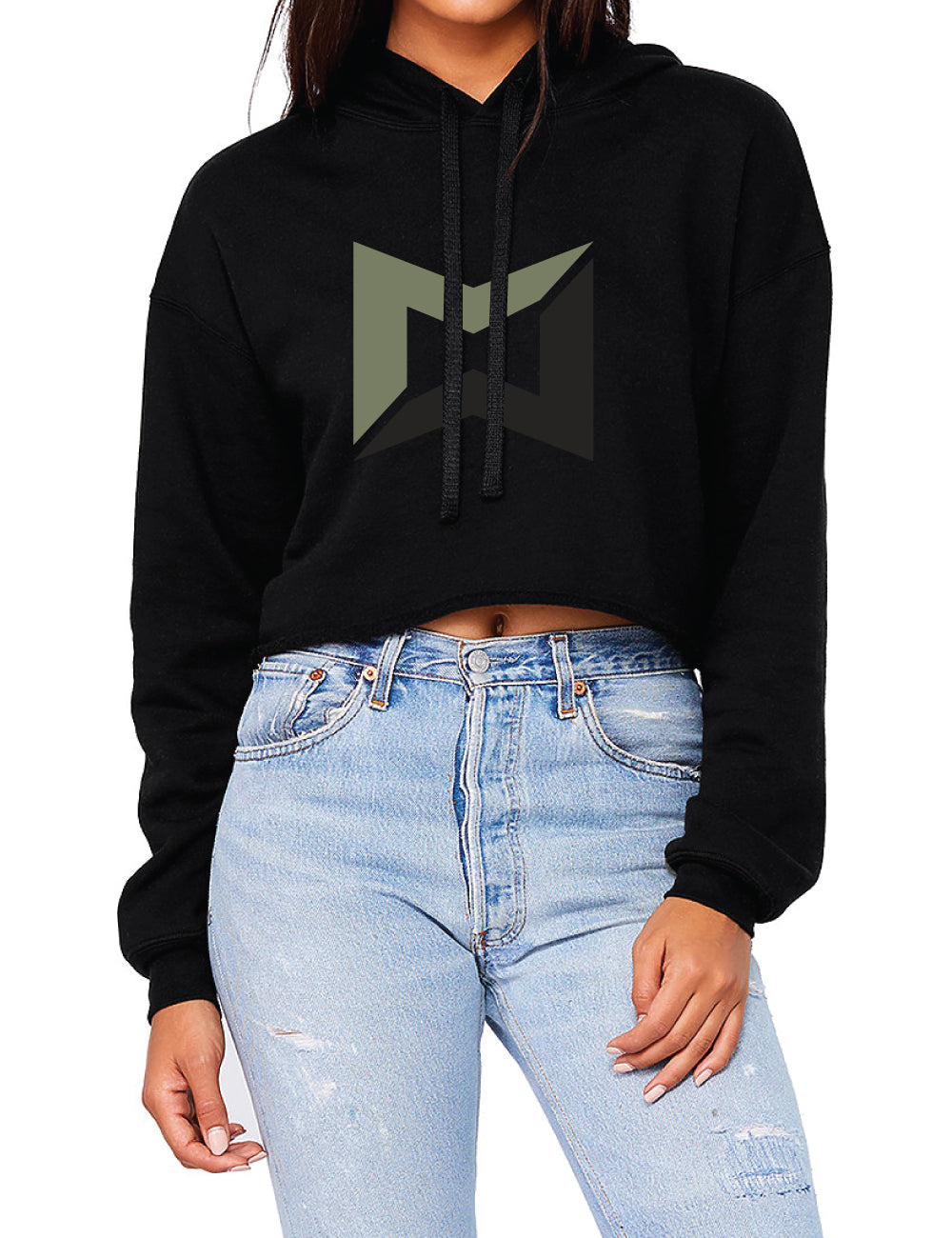 Wiggins Icon Cropped Hoodie