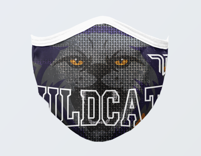WILDCATS FACE MASK