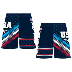 THE GWIZ WRESTLING SHORTS (MADE TO ORDER)
