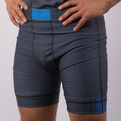 GRAYZ COMPRESSION SHORTS BLUE
