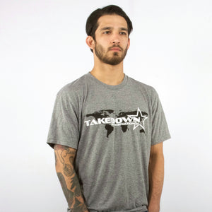 TAKEDOWN GLOBAL GRAPHIC TEE