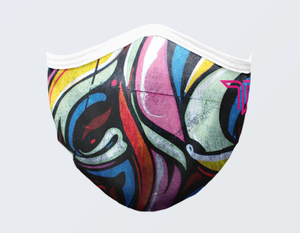 GRAFFITI CITY FACE MASK