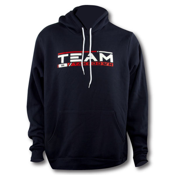 TEAM TAKEDOWN STREAMLINE HOODIE - NAVY