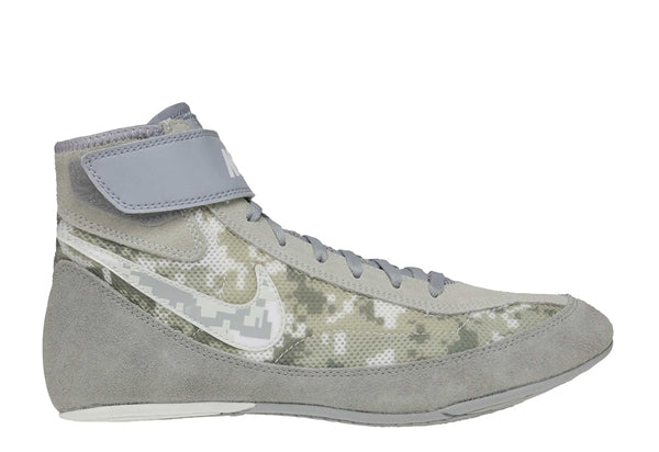 NIKE SPEEDSWEEP VII YOUTH WRESTLING SHOE - CAMO