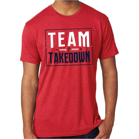 TEAM TAKEDOWN ARENA TEE - RED