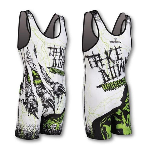 UNLEASHED WHITE SINGLET (CLOSEOUT)