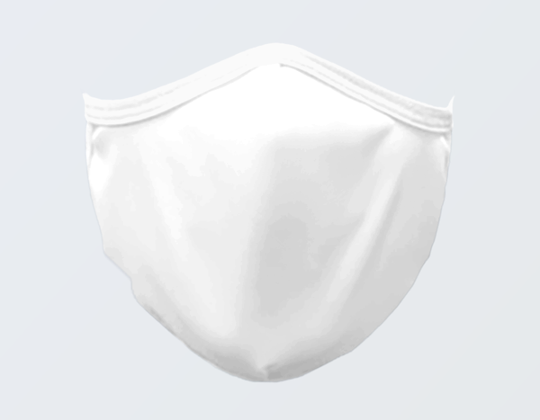 WHITE FACE MASK - FIRST ONE FREE!