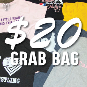Women's Wrestling Tee Grab Bag