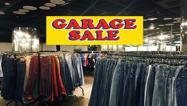 Beyond Retro Garage Sale!