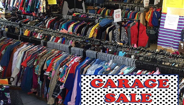 OUR HUGE GARAGE SALE IS BACK!!