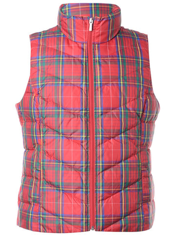 Vintage Christmas Vest from Beyond Retro