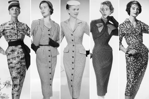 Beyond Retro 1950s Vintage Dress Guide Wiggle Dresses