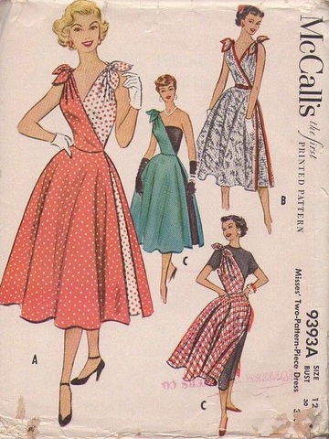 Beyond Retro Vintage 1950s Dress Guide Pattern