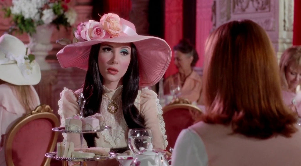 The Love Witch Tearoom Scene