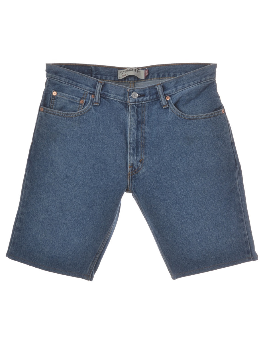 Beyond Retro Label Toby Mens Denim Shorts
