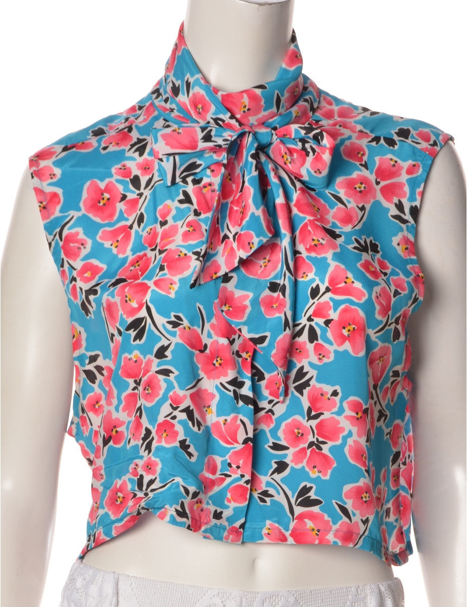 Label Sleeveless Blouse