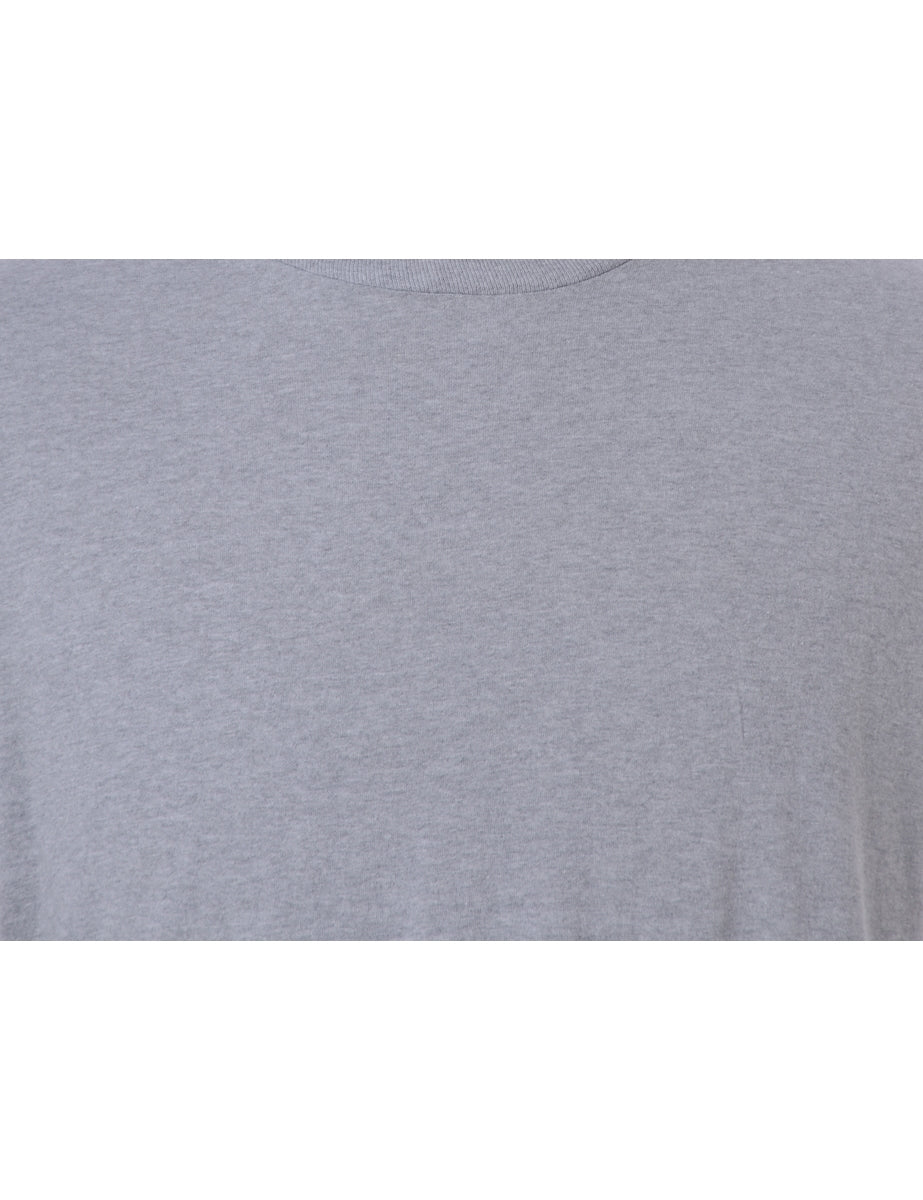Label Tom Roll Sleeve T-Shirt