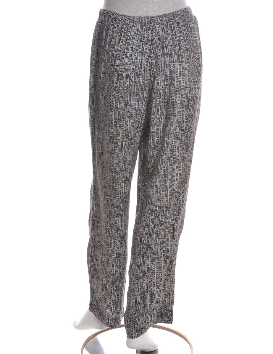 Casual Trousers Multi-colour With Two Pockets