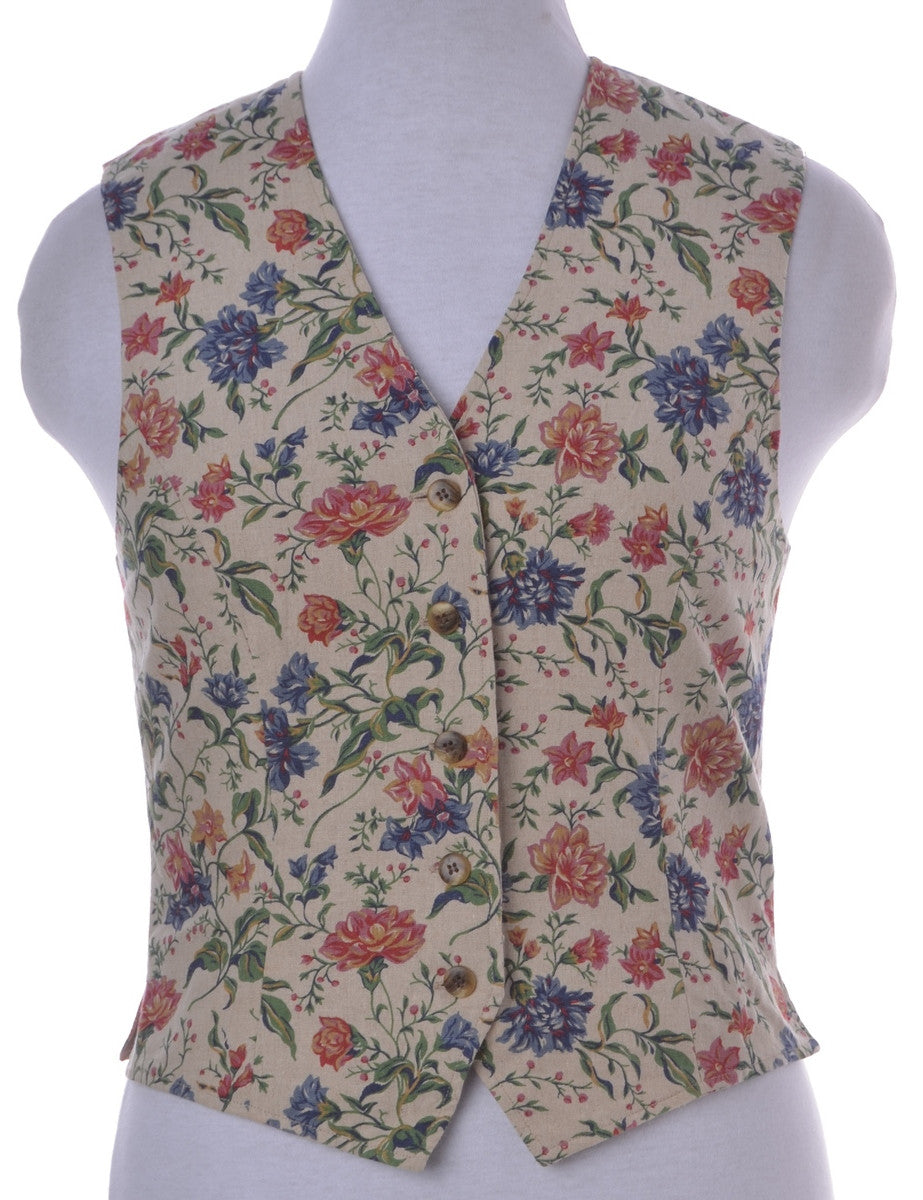 Waistcoat Multi-colour With Full Lining
