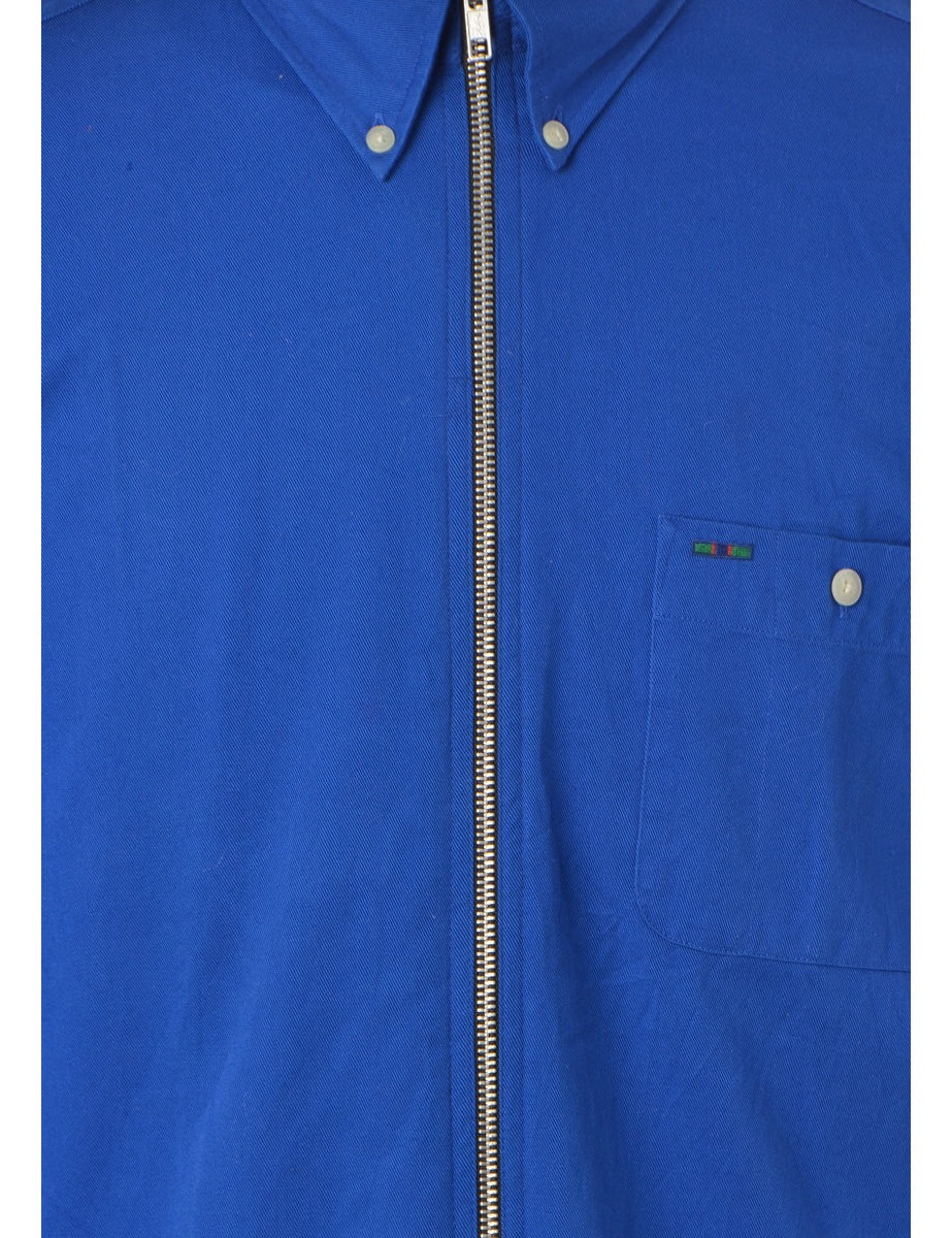 Label Blue Summer Shacket