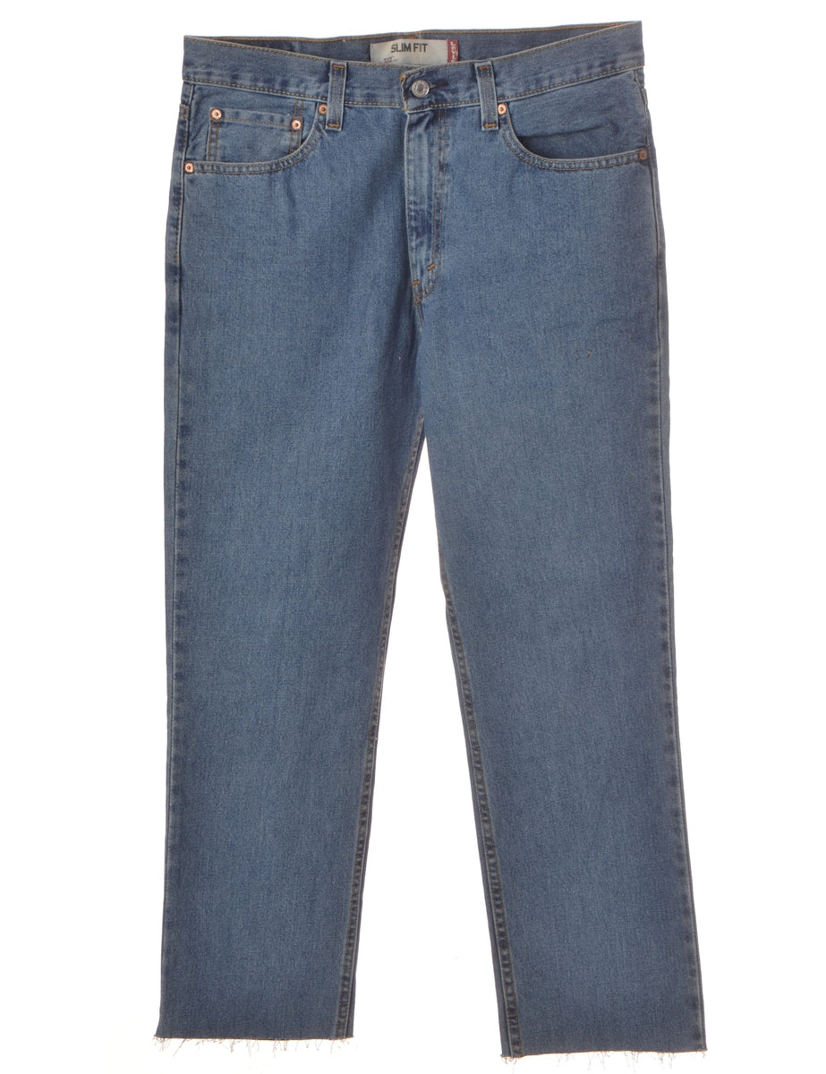 Label Sam Cropped Mens Jeans
