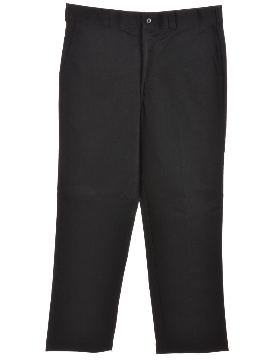 Smart Trousers Black With Pockets
