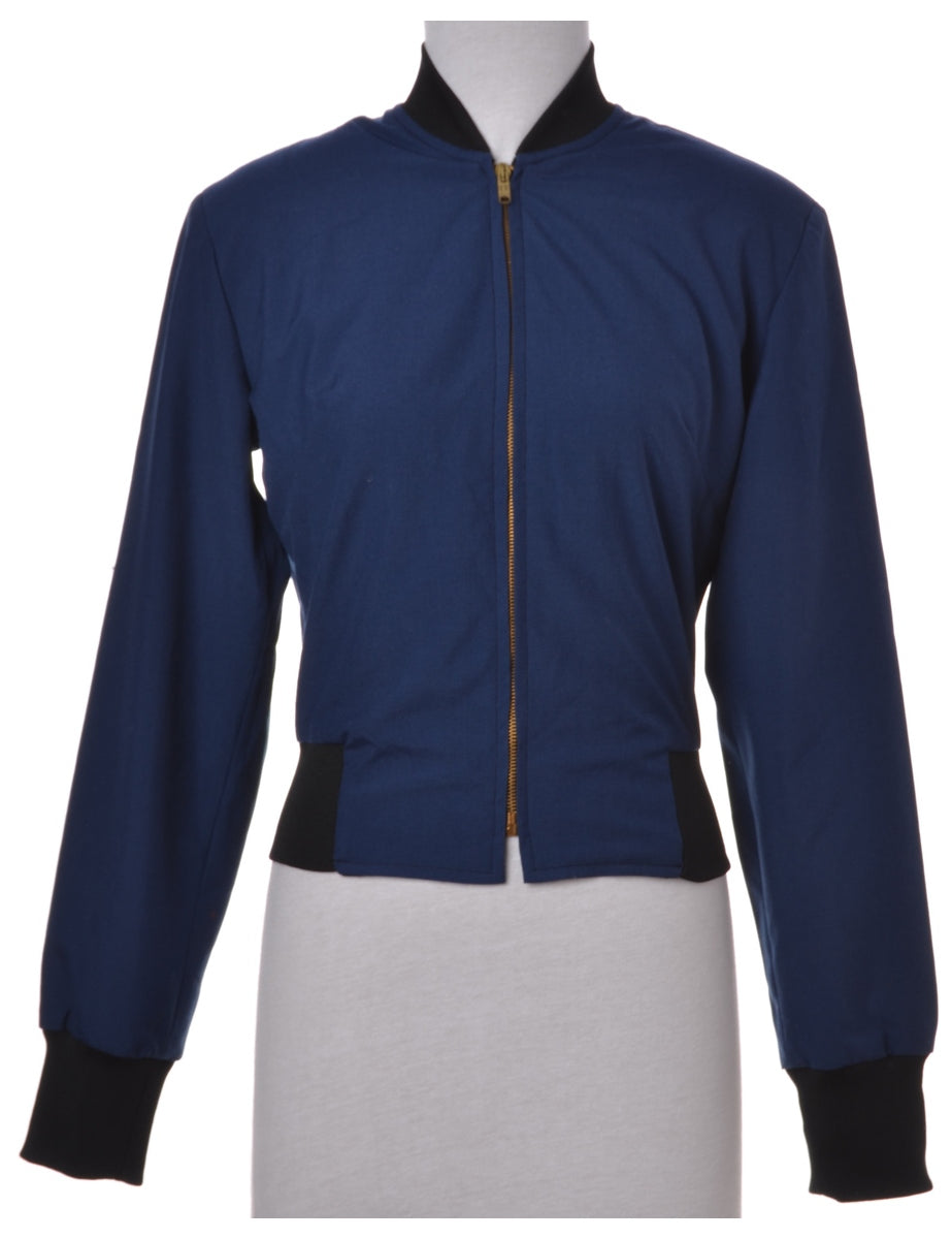 Casual Jacket Navy With Full Lining