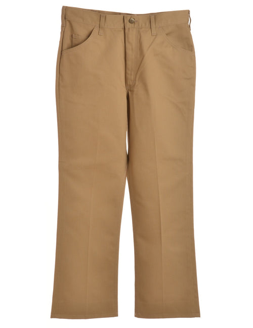 Casual Trousers Brown With Multiple Pockets