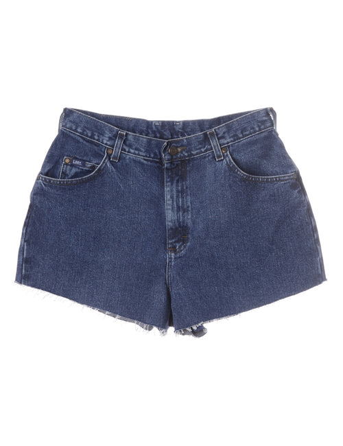 Label Molly Frayed denim shorts