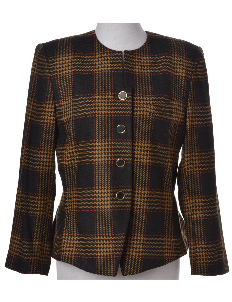 Casual Jacket Brown With Full Lining
