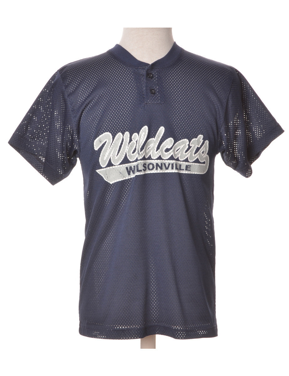 Sports T-shirt Navy With Sports Print