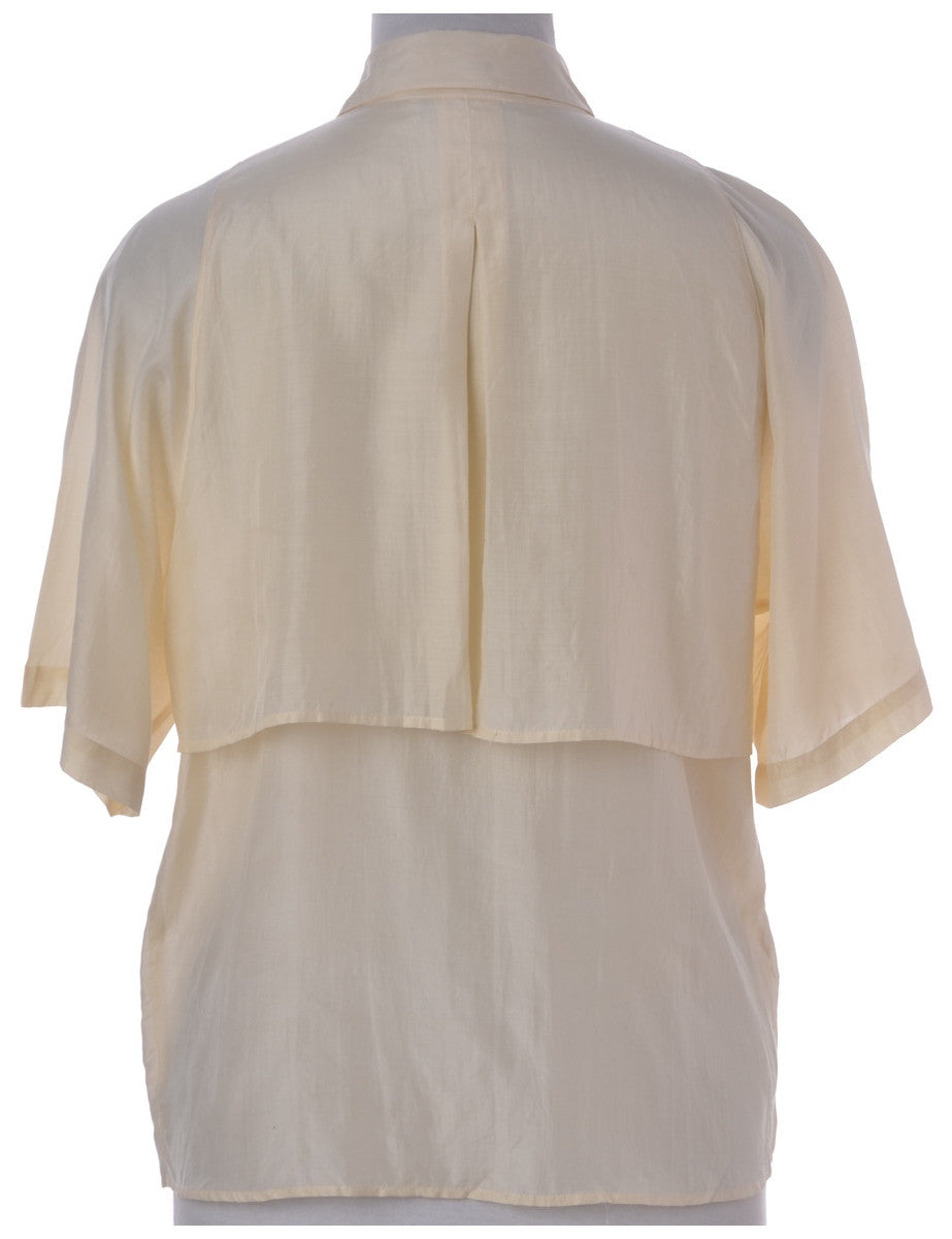 Blouse Pale Yellow