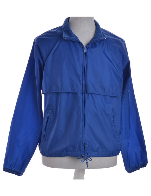 Casual Jacket Blue With Pockets