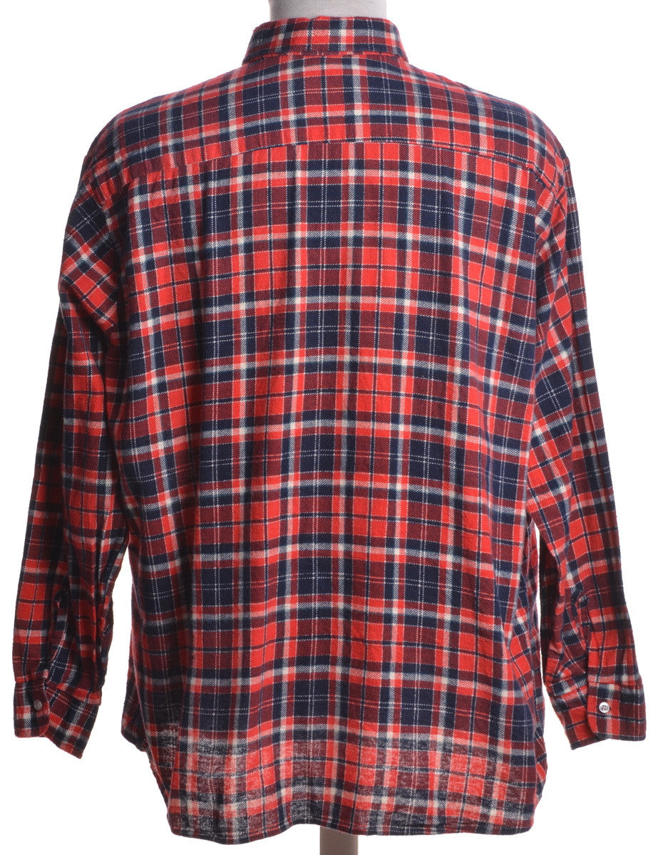 Casual Shirt Red With Two Pockets