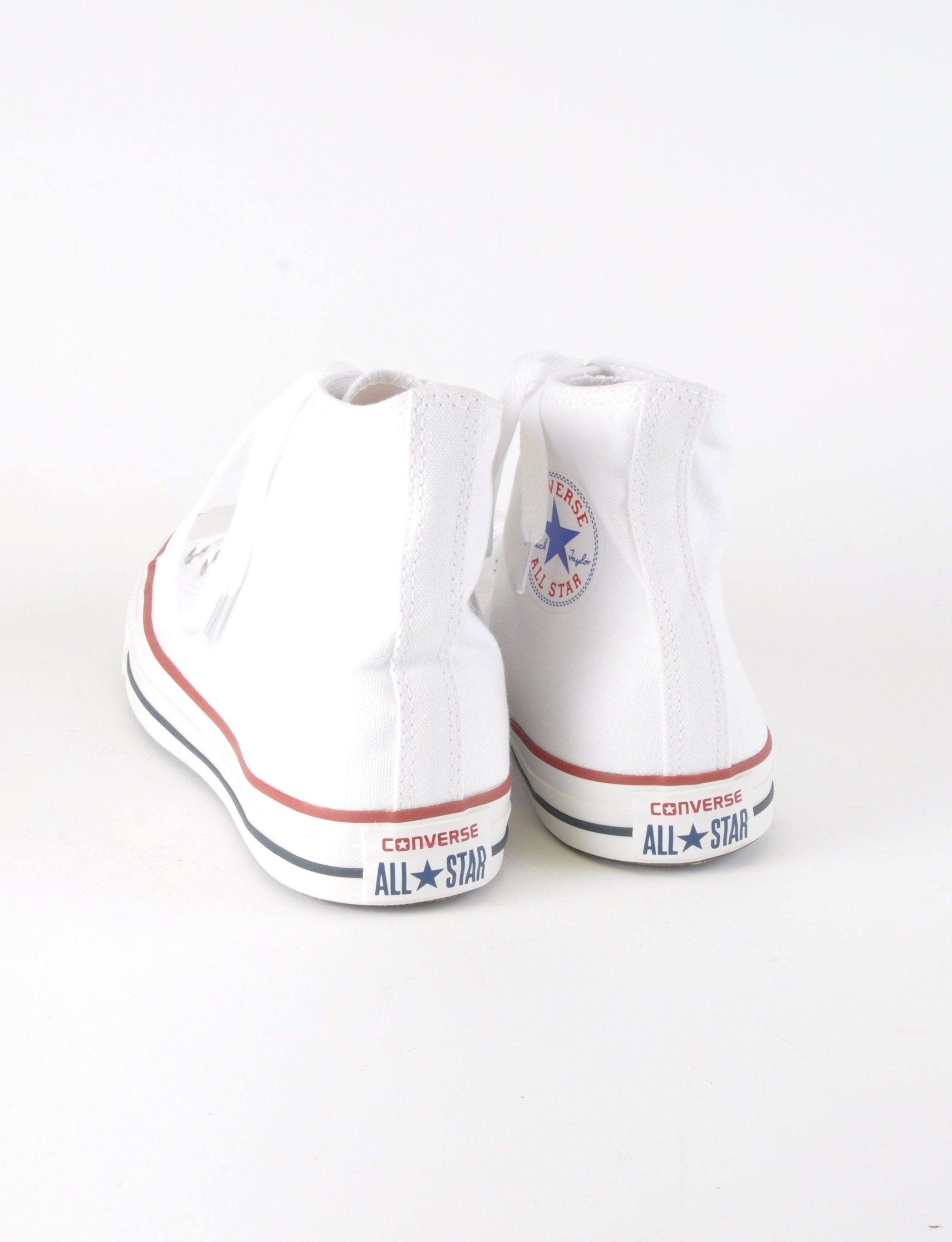 Classic White Hightop Converse - New But Imperfect - Footwear - Beyond Retro