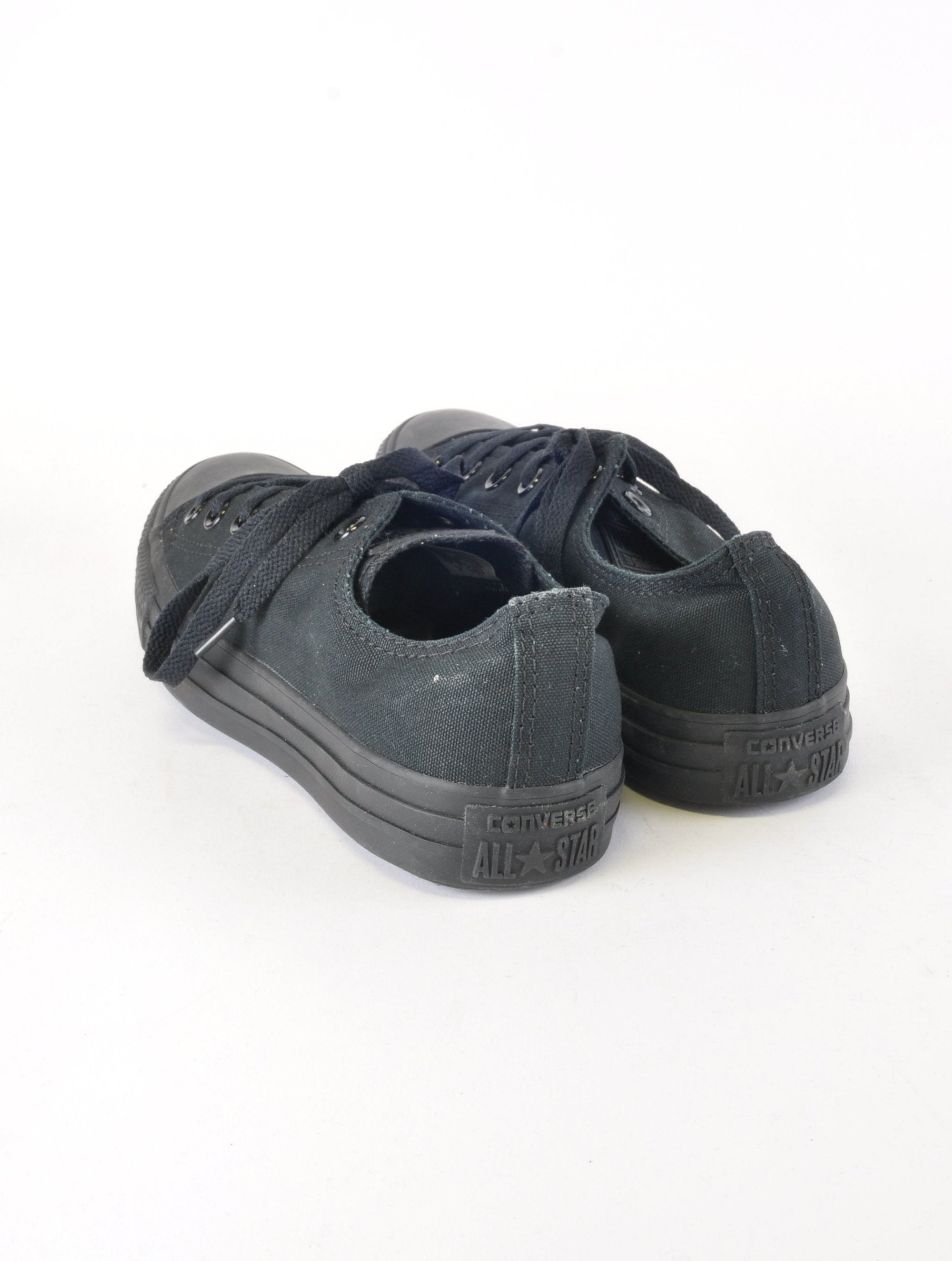 Black Classic Low Converse - New But Imperfect - Footwear - Beyond Retro