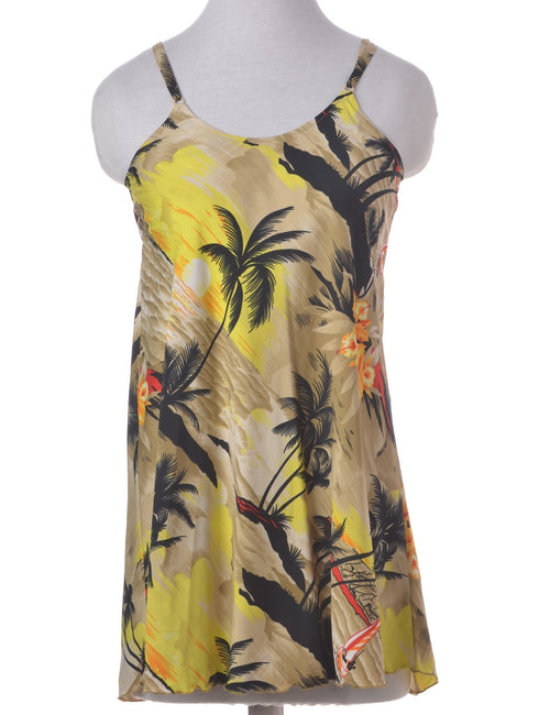 Vintage Summer Dress Multi-colour With Adjustable Straps