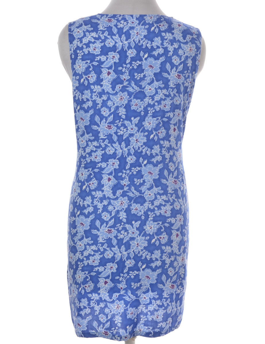 Label Floral Print Short Dress