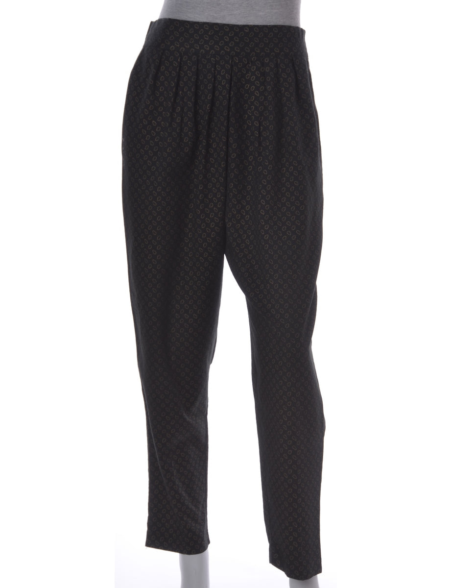 Black Summer Trousers