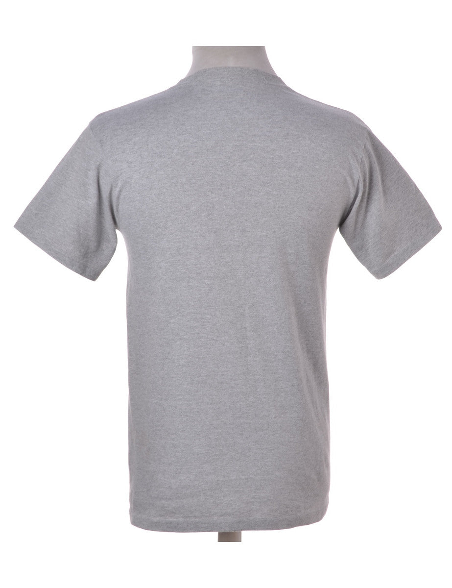 Printed T-shirt Light Grey