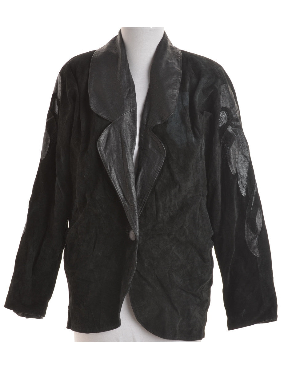Leather Jacket Black With Full Lining