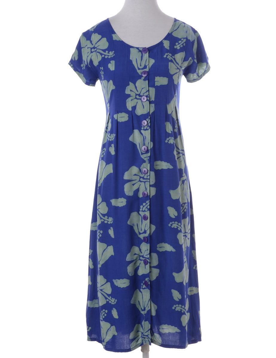 Floral Pattern Day Dress