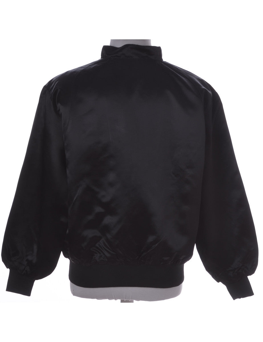 Casual Jacket Black With Full Lining