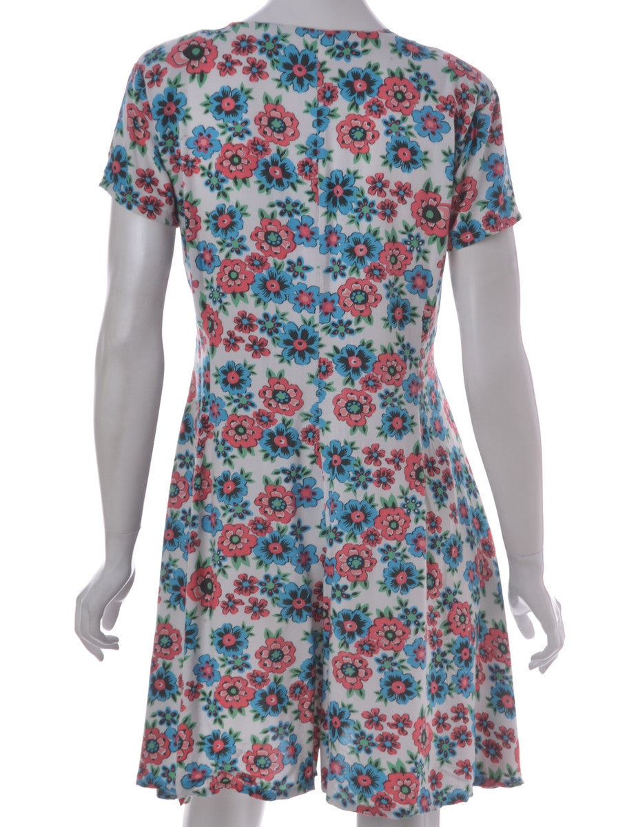 Playsuit Multi-colour With Side Ties