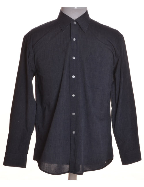 Casual Shirt Navy With One Pocket